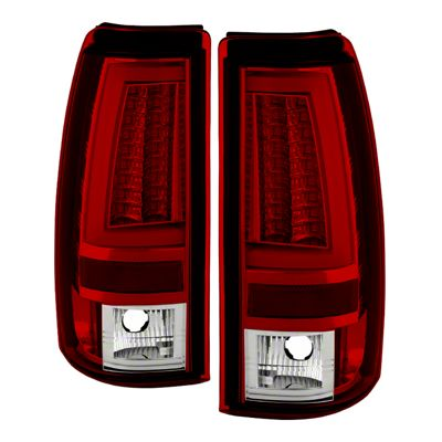 Axial Gen2 Red LED Tail Lights (03-06 Silverado 1500 Fleetside)