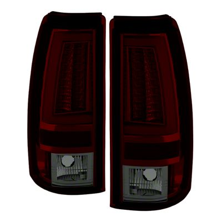Axial Gen2 Smoked Red LED Tail Lights (03-06 Silverado 1500 Fleetside)