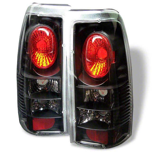 Axial Black Euro Style Tail Lights (99-02 Silverado 1500 Fleetside)