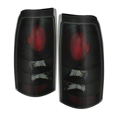 Axial Smoked Black Euro Style Tail Lights (99-02 Silverado 1500 Fleetside)