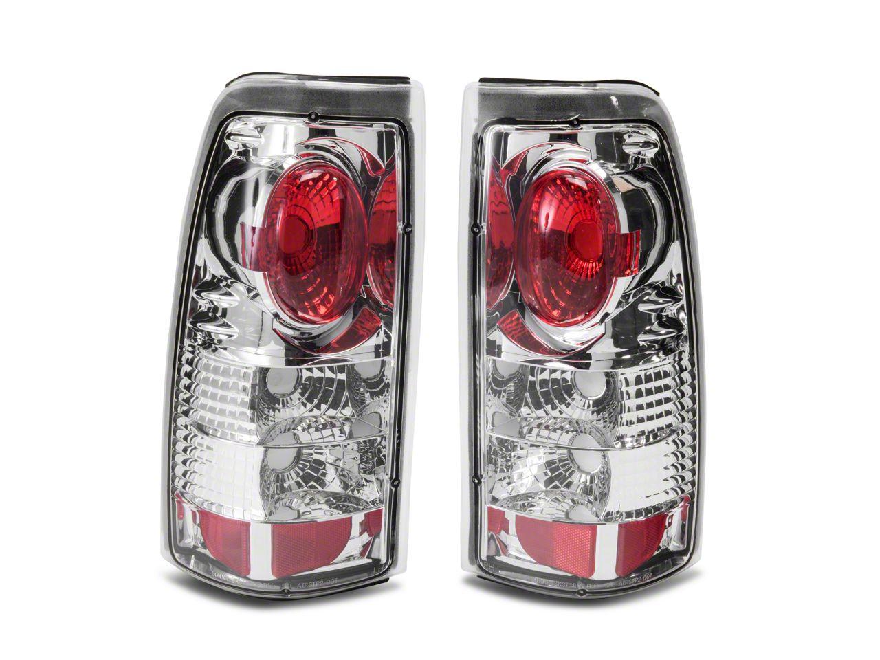 Axial Chrome Euro Style Tail Lights (99-02 Silverado 1500 Fleetside)