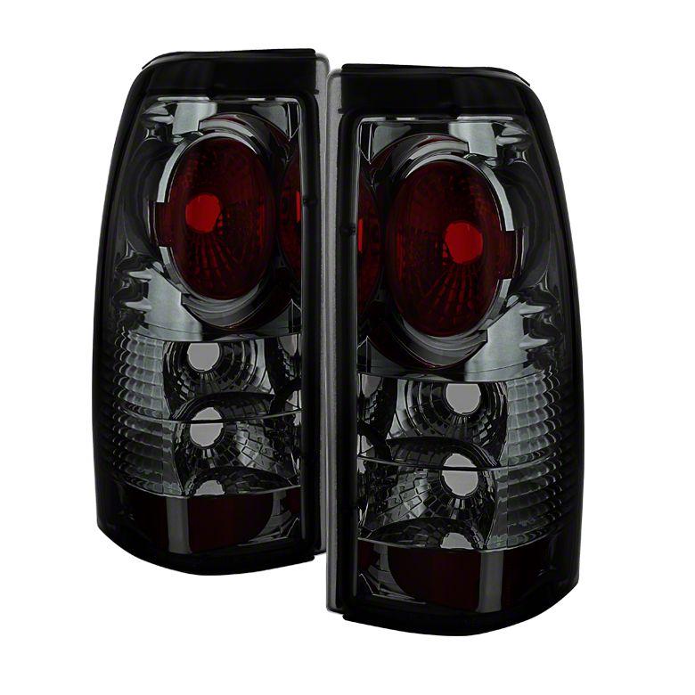 Axial Smoked Chrome Euro Style Tail Lights (99-02 Silverado 1500 Fleetside)
