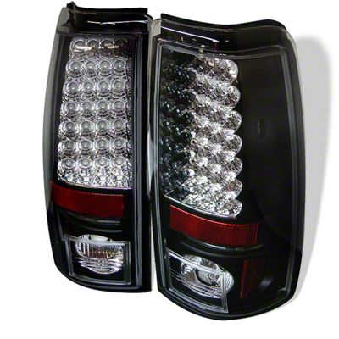 Axial Black LED Tail Lights (99-02 Silverado 1500 Fleetside)