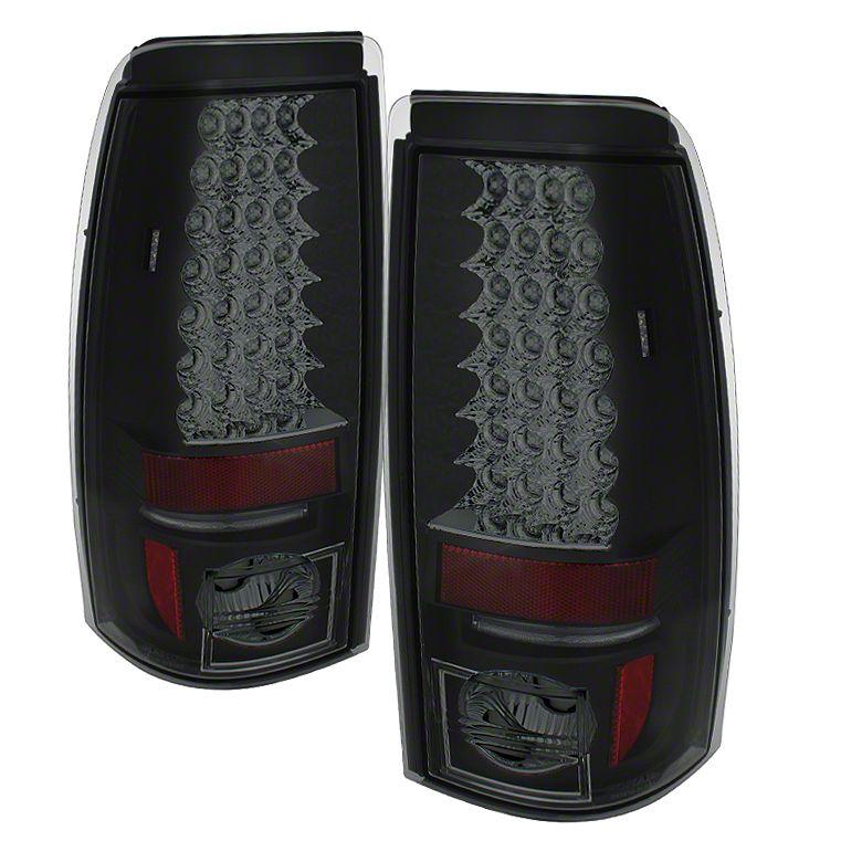 Axial Smoked Black LED Tail Lights (99-02 Silverado 1500 Fleetside)