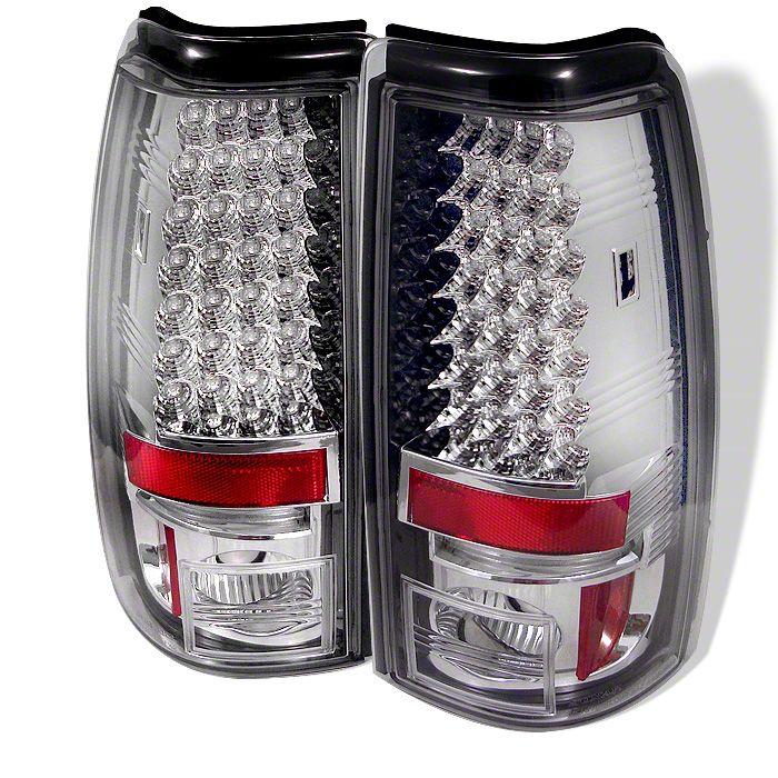 Axial Chrome LED Tail Lights (99-02 Silverado 1500 Fleetside)