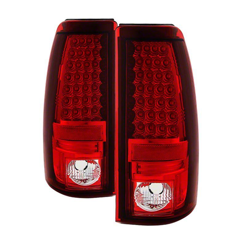 Axial Red LED Tail Lights (99-02 Silverado 1500 Fleetside)
