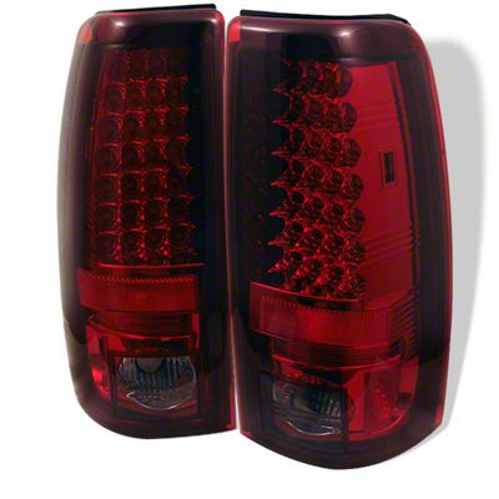 Axial Smoked Red LED Tail Lights (99-02 Silverado 1500 Fleetside)