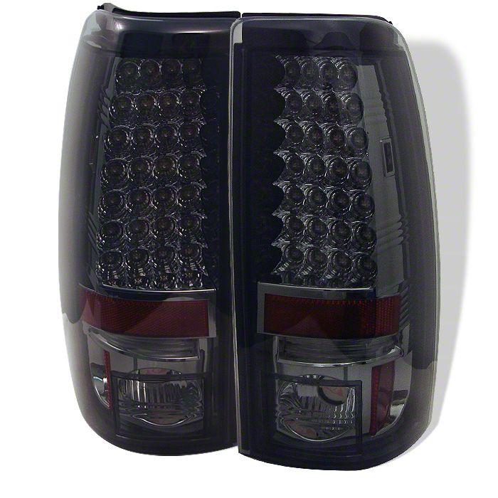 Axial Smoked Chrome LED Tail Lights (99-02 Silverado 1500 Fleetside)