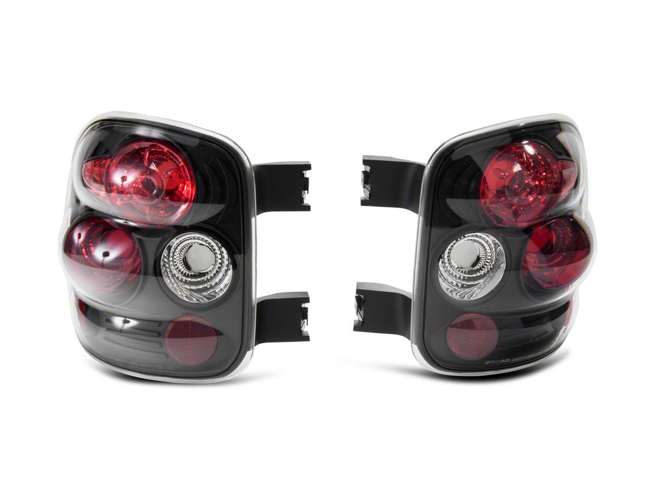 Axial Black Euro Style Tail Lights (99-04 Silverado 1500 Stepside)
