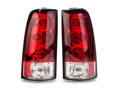 Axial Red Alteeza Style Tail Lights (99-02 Silverado 1500 Fleetside)