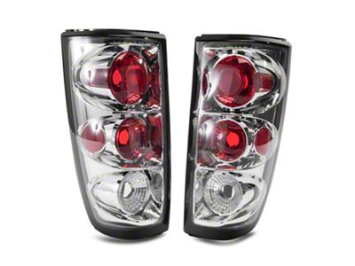 Axial Chrome Alteeza Style Tail Lights (99-02 Silverado 1500 Fleetside)