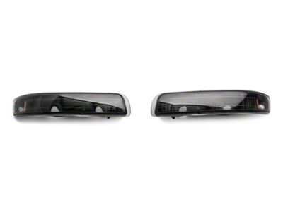 Axial Black Euro Style Turn Signal & Parking Lights (99-02 Silverado 1500)