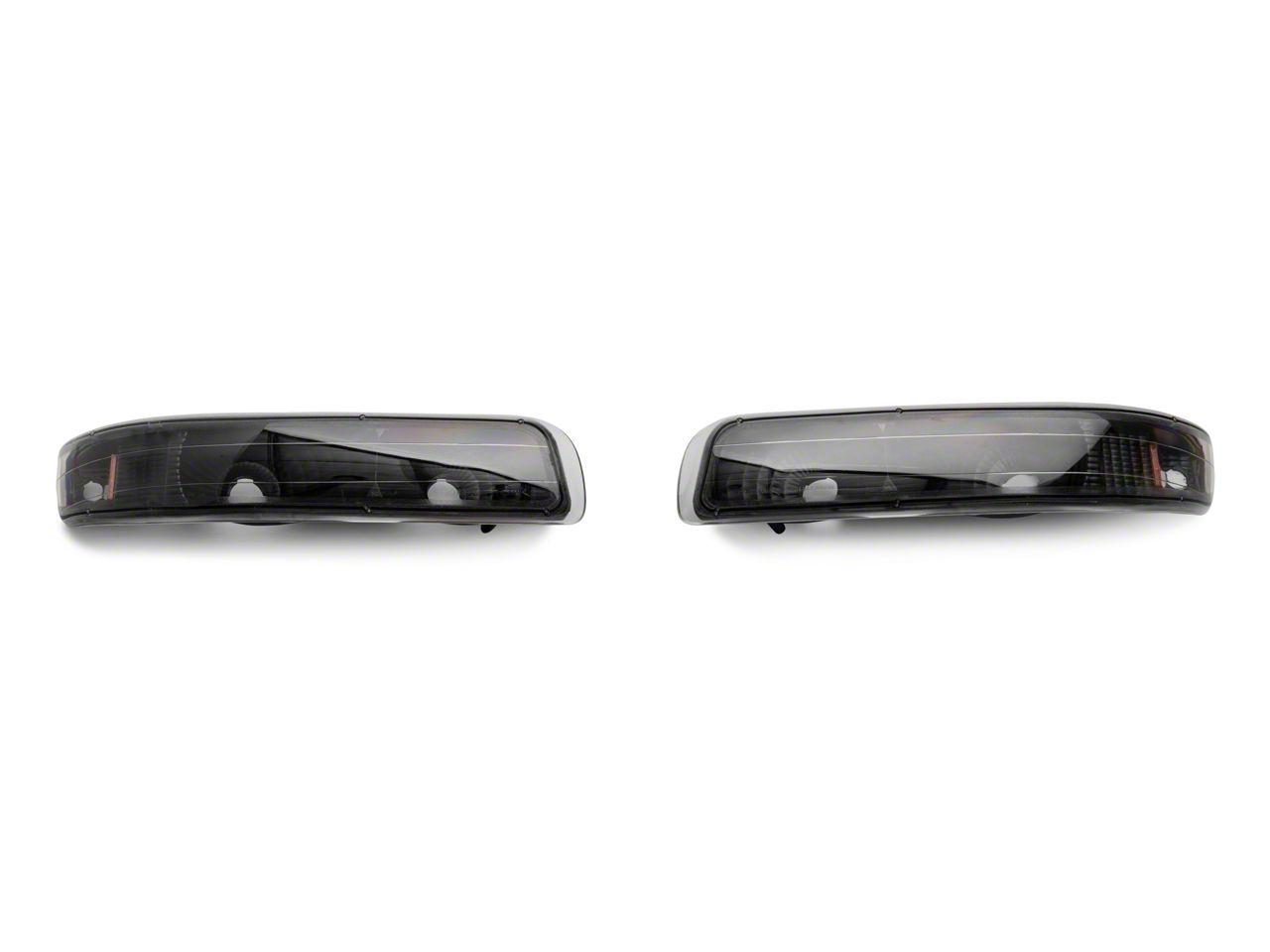 Axial Black Euro Style Bumper Lights (99-02 Silverado 1500)