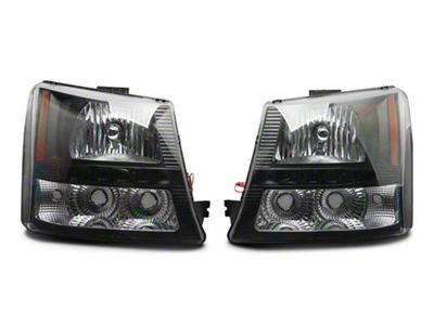 Axial 1-Piece Black SMD LED Headlights & Bumper Lights (03-06 Silverado 1500)