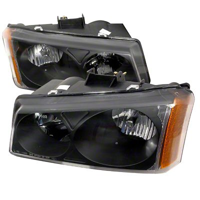 Axial Black Euro Headlights (03-06 Silverado 1500)