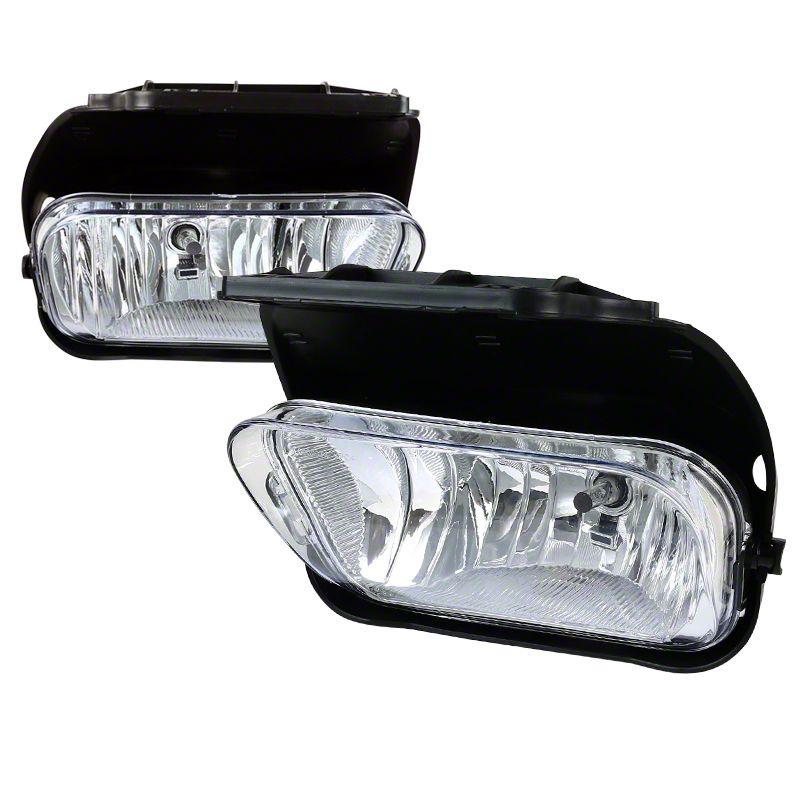 Axial Clear OE Style Fog Lights w/o Wiring Harness - Pair (03-06 Silverado 1500)