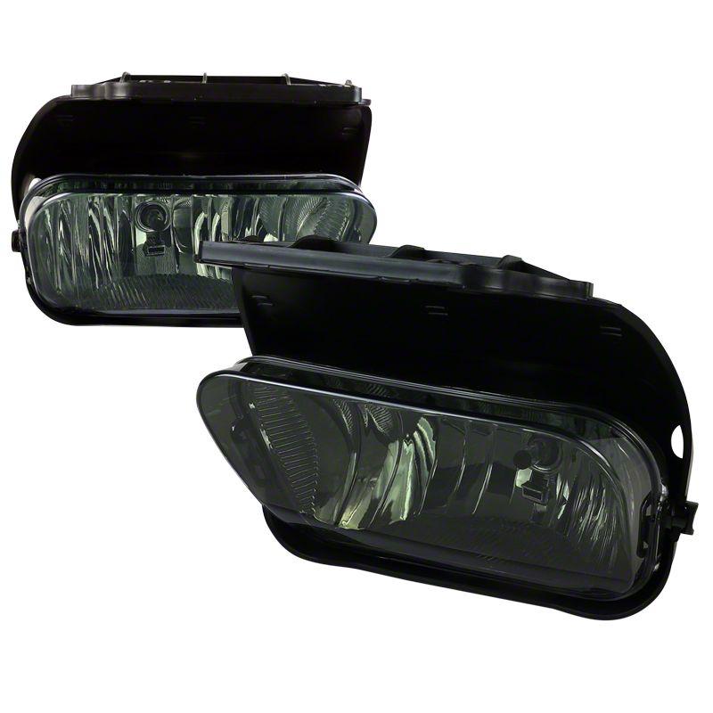 Axial Smoked OE Style Fog Lights w/ Wiring Harness - Pair (03-06 Silverado 1500)
