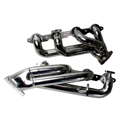 BBK 1-3/4 in. Chrome Tuned Length Shorty Headers (99-04 4.8L, 5.3L Silverado 1500)