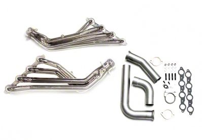 BBK 1-3/4 in. Ceramic Long Tube Headers w/ Y-Pipe (99-02 4.8L, 5.3L Silverado 1500)