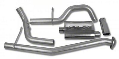 CGS Motorsports Stainless Single Exhaust System - Side Exit (02-06 4.3L Silverado 1500)