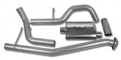 CGS Motorsports Stainless Single Exhaust System - Side Exit (02-06 5.3L Silverado 1500)