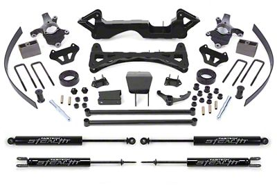 Fabtech 6 in. Performance Lift System w/ Stealth Shocks (Late 00-06 4WD Silverado 1500)
