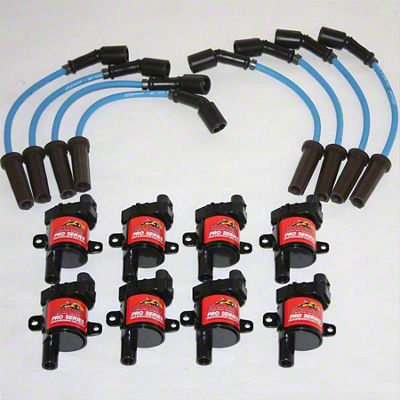 GMS Pro Series Coil Packs w/ High Performance Ignition Wires (99-04 4.8L, 5.3L Silverado 1500)