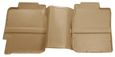 Husky Classic 2nd Seat Floor Liner - Tan (99-06 Silverado 1500 Extended Cab)