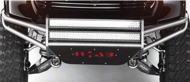 N-Fab R.S.P. Pre-Runner Front Bumper for Dual 38 in. Rigid LED Lights - Textured Black (99-02 Silverado 1500)