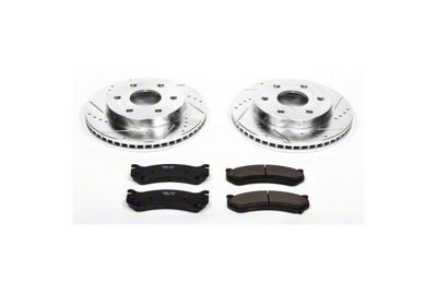 Power Stop Z23 Evolution Sport 6-Lug Brake Rotor & Pad Kit - Front (99-06 Silverado 1500)