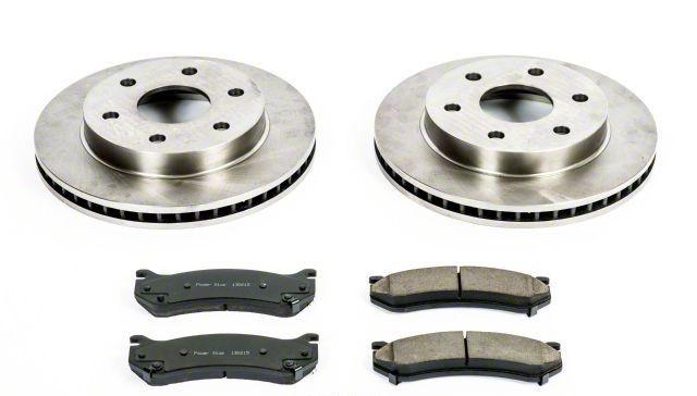 Power Stop OE Replacement 6-Lug Brake Rotor & Pad Kit - Front (99-06 Silverado 1500)