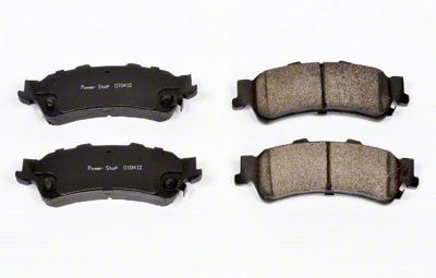 Power Stop Z16 Evolution Clean Ride Ceramic Brake Pads - Rear Pair (99-06 Silverado 1500 w/o Rear Drum Brakes)