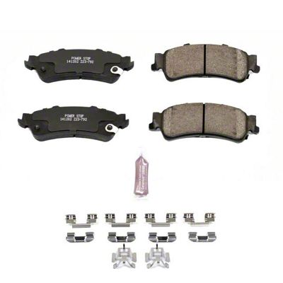 Power Stop Z23 Evolution Sport Ceramic Brake Pads - Rear Pair (99-06 Silverado 1500 w/o Rear Drum Brakes)
