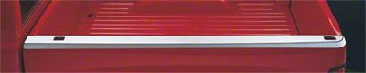 Stainless Steel Bed Rail Skins w/ Stake Pocket Holes (99-06 Silverado 1500 Fleetside)
