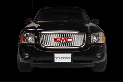 Putco Designed FX Diamond Upper Overlay Grille - Polished (2006 Silverado 1500)
