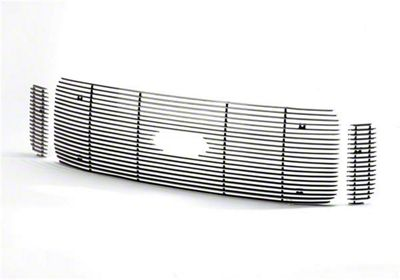 Putco Shadow Billet Upper Overlay Grilles - Polished (03-06 Silverado 1500 SS)
