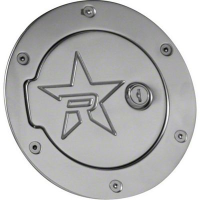 RBP RX-2 Polished Aluminum Locking Fuel Door (99-06 Silverado 1500)