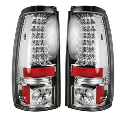 Recon LED Tail Lights - Clear Lens (99-06 Silverado 1500 Fleetside)