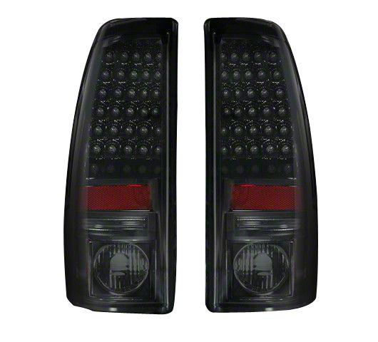 Recon LED Tail Lights - Smoked Lens (99-06 Silverado 1500 Fleetside)