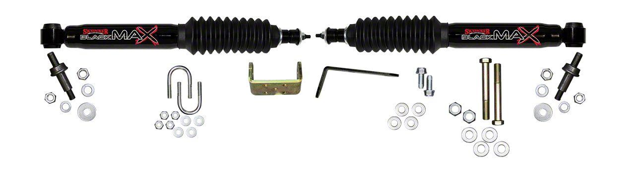 SkyJacker Black MAX Dual Stabilizer Kit (99-06 4WD Silverado 1500)