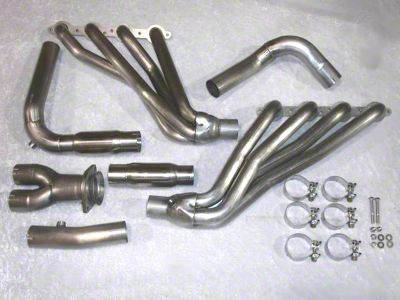 Stainless Works 1-3/4 in. Headers w/ Off-Road Y-Pipe - Factory Connect (03-06 4WD 4.8L, 5.3L Silverado 1500)