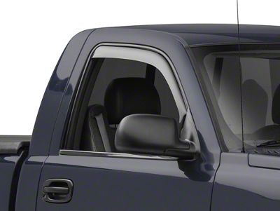 Weathertech Front Side Window Deflectors - Dark Smoke (99-06 Silverado 1500)