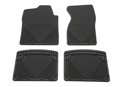 Weathertech All Weather Front & Rear Floor Mats - Black (99-06 Silverado 1500, Extended Cab, Crew Cab)