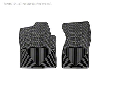 Weathertech All Weather Front Floor Mats - Black (99-06 Silverado 1500)