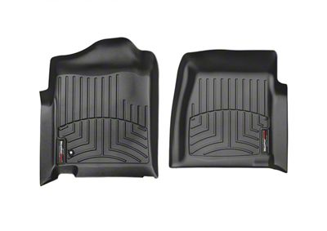 Weathertech DigitalFit Front Floor Liners - Black (99-06 Silverado 1500 w/o Floor Shifter)