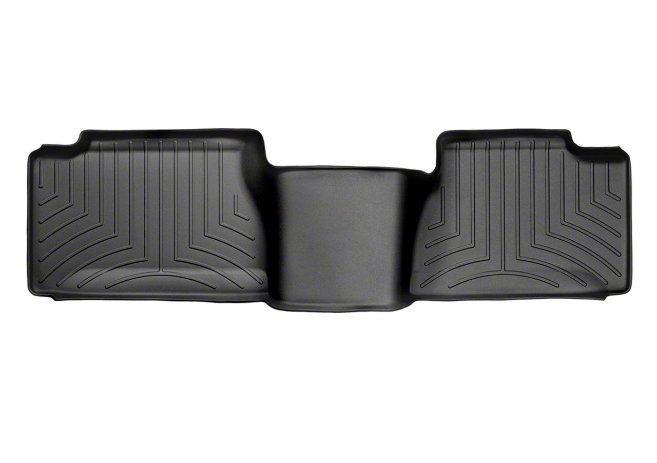 Weathertech DigitalFit Rear Floor Liner - Black (99-06 Silverado 1500, Extended Cab, Crew Cab)