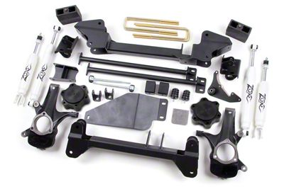 Zone Offroad 6.5 in. Suspension Lift Kit w/ Hydro Shocks (99-06 4WD Silverado 1500)