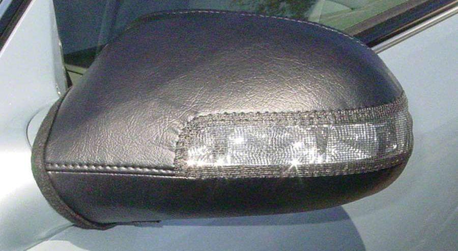 Covercraft Colgan Custom Mirror Bra - Black (99-06 Silverado 1500)