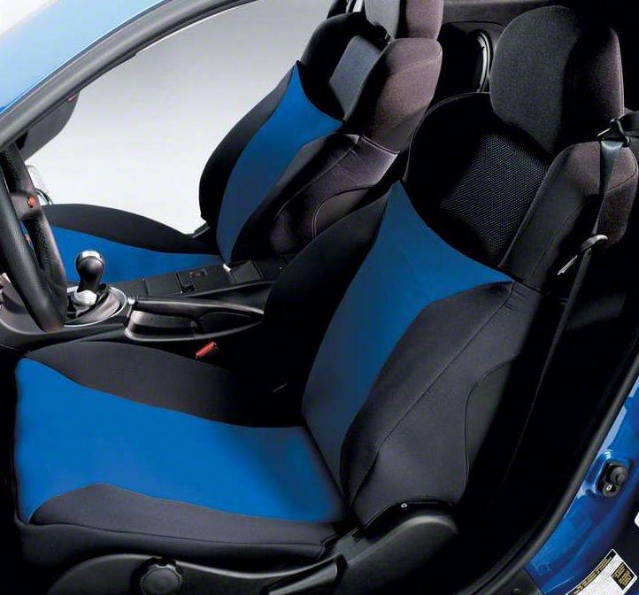 Covercraft SeatGloves Seat Covers - Blue (03-06 Silverado 1500 w/ Bucket Seats)