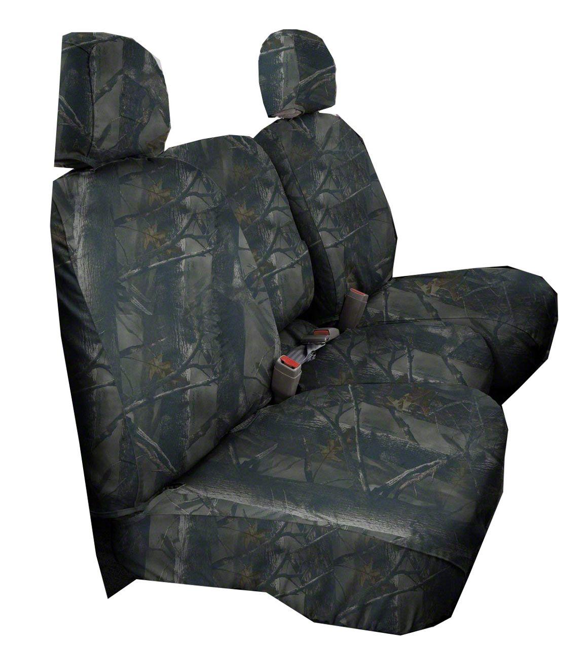 Covercraft SeatSaver Second Row Seat Cover - True Timber 3D Image Camo (99-06 Silverado 1500 Extended Cab, Crew Cab)